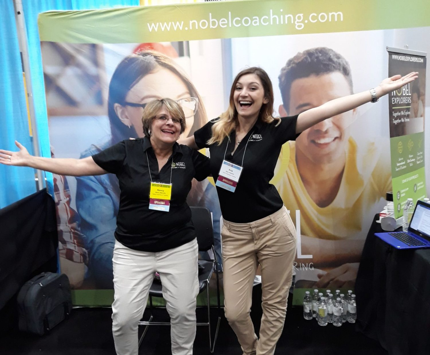Coaches Nancy and Ana at ASCA 2018.